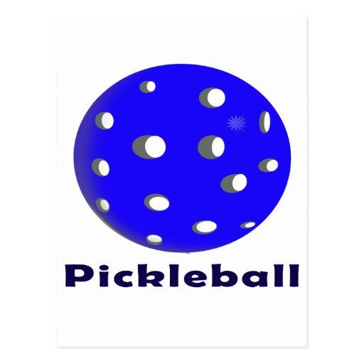 texto n ball.png azul del pickleball postal