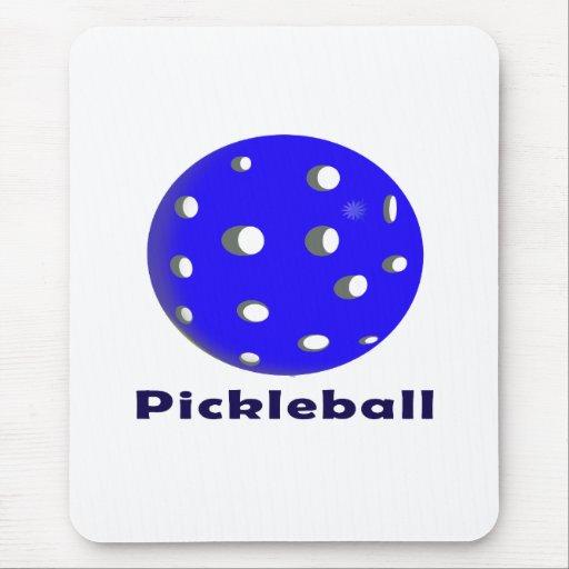 texto n ball.png azul del pickleball alfombrillas de ratones
