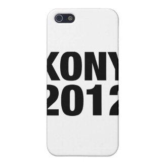 Texto negro de Kony 2012 iPhone 5 Cobertura