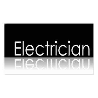 Texto reflexivo - electricista - tarjeta de visita