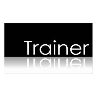 Texto reflexivo - instructor - tarjeta de visita