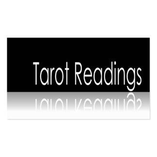 Texto reflexivo - lecturas de Tarot - tarjeta de v Tarjetas De Visita