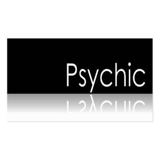 Texto reflexivo - psíquico - tarjeta de visita
