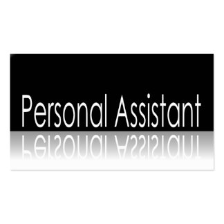 Texto reflexivo - tarjeta de visita del ayudante p