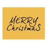 Texto simple de las Felices Navidad Postales