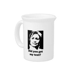 Textos de Hillary Jarras De Beber