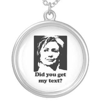 Textos de Hillary Joyerías