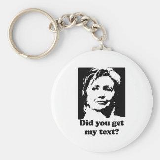 Textos de Hillary Llavero Personalizado