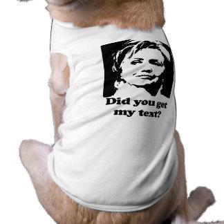 Textos de Hillary Ropa Para Mascota