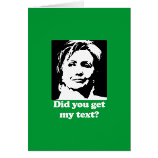Textos de Hillary Tarjetas