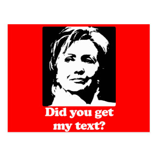 Textos de Hillary Tarjetas Postales