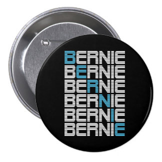 textStacks de las chorreadoras de BERNIE Pin Redondo 7 Cm