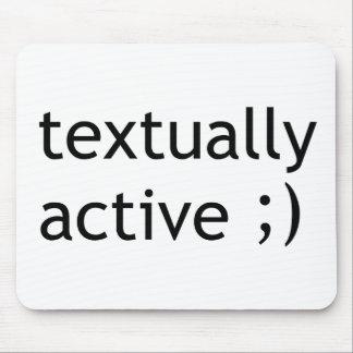 Textual Active Alfombrilla De Ratones