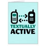 Textual Active Felicitación