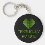 Textual Active - llavero