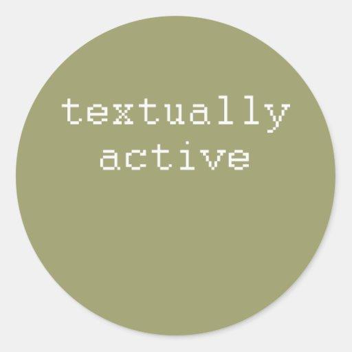 textuallyactive sticker