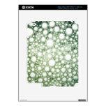 Textura 1 de las burbujas iPad 3 pegatina skin