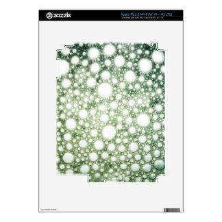 Textura 1 de las burbujas iPad 3 skins