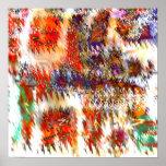 Textura 1a de la sombra impresiones