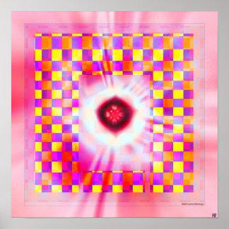 Textura 3 (marcos firmados) de la sombra impresiones