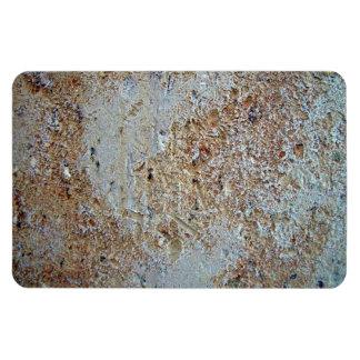 Textura abigarrada del ladrillo imanes rectangulares