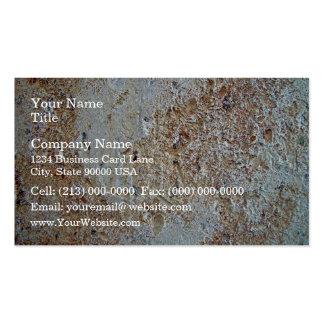 Textura abigarrada del ladrillo tarjeta de visita