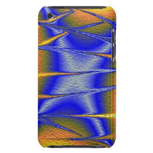 Textura abstracta colorida iPod touch coberturas