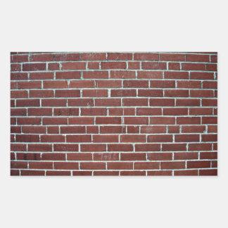 Textura abstracta de la pared de ladrillo marrón rectangular altavoz