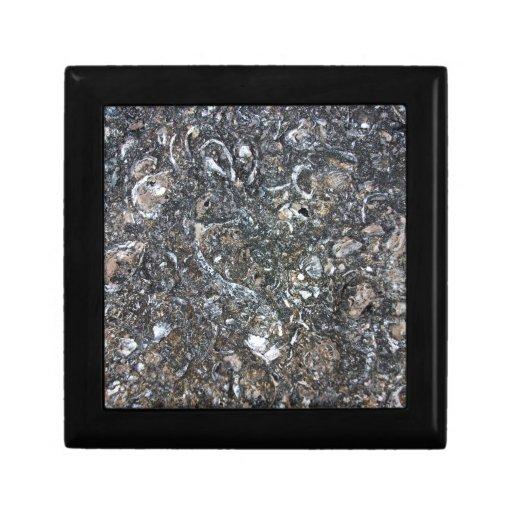 Textura abstracta de la roca cajas de regalo