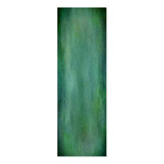 Textura abstracta de las profundidades del océano tarjetas de visita mini