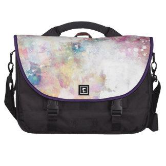 Textura abstracta del grunge con la pintura 2 de l bolsas para ordenador
