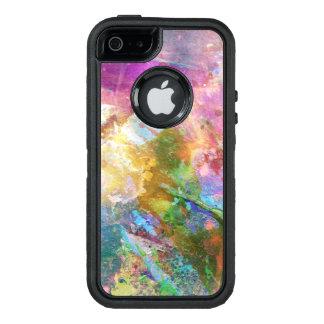 Textura abstracta del grunge con la pintura 3 de funda otterbox para iPhone 5/5s/SE
