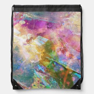 Textura abstracta del grunge con la pintura 3 de l