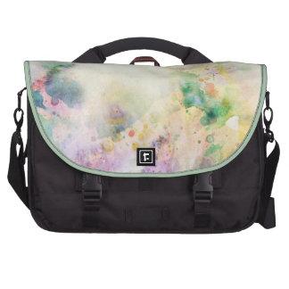 Textura abstracta del grunge con la pintura de la bolsas para portatil