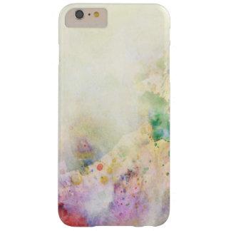 Textura abstracta del grunge con la pintura de la funda de iPhone 6 plus barely there