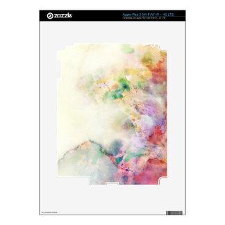 Textura abstracta del grunge con la pintura de la  iPad 3 skins