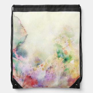 Textura abstracta del grunge con la pintura de la