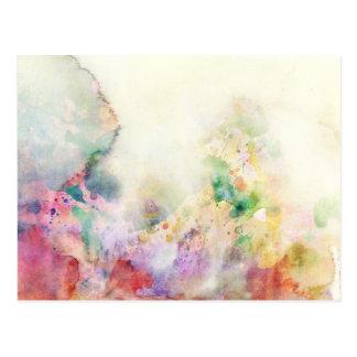 Textura abstracta del grunge con la pintura de la  tarjeta postal