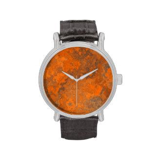 Textura abstracta TPD del moho Relojes De Mano