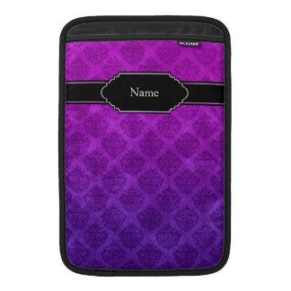 Textura adornada Amethyst púrpura del Grunge del Fundas Macbook Air