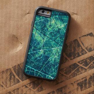Textura agrietada aguamarina del Grunge del modelo Funda Para iPhone 6 Tough Xtreme