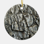Textura agrietada de la roca adornos