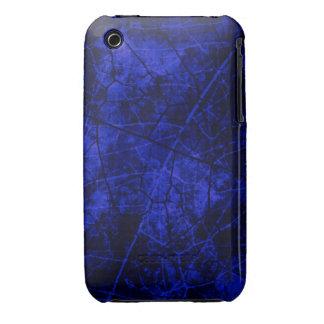 Textura agrietada del Grunge del modelo de la laca iPhone 3 Protectores