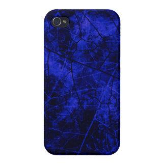 Textura agrietada del Grunge del modelo de la laca iPhone 4/4S Funda