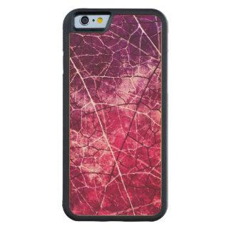 Textura agrietada rosada del Grunge del modelo de Funda De iPhone 6 Bumper Arce