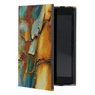 Textura agrietada taller de pintura oxidado fresco iPad mini carcasas