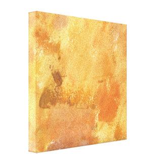 Textura amarilla del extracto del Grunge Lienzo Envuelto Para Galerias