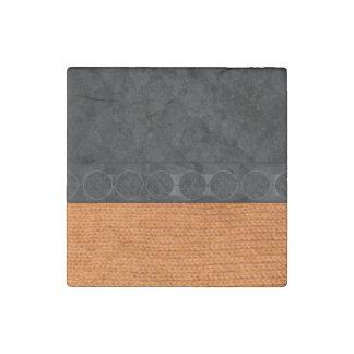 Textura anaranjada brillante de la serpiente del imán de piedra