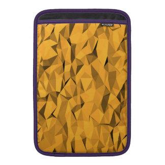 Textura anaranjada fundas para macbook air
