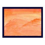 Textura anaranjada postal